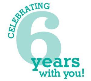 Celebrating 6 yrs